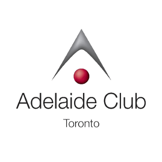 The logo for Adelaide Club, to which Union Athletic Club members in Markham, ON get 4 free visits